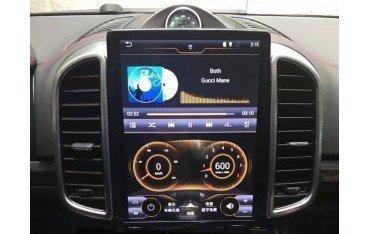 Radio GPS ANDROID TESLA STYLE Porsche Cayenne