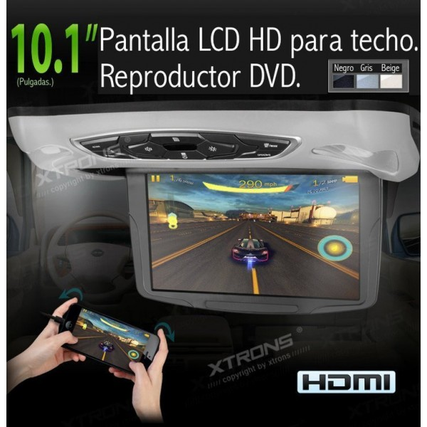 lcd car roof monitor DVD