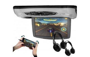 Pantalla techo coche 10,1 pulgadas. Reproductor DVD, USB, SD y juegos REF: TR1454