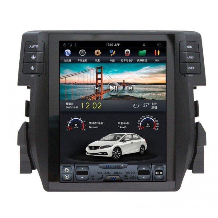 GPS TESLA STYLE Honda Civic