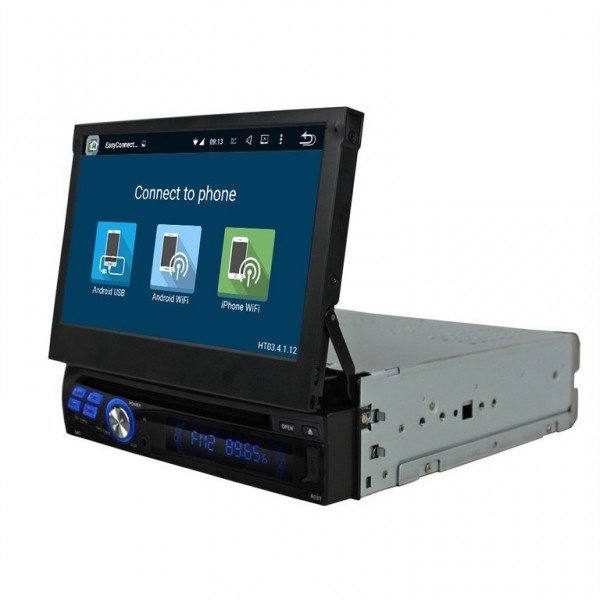 GPS Radio DVD 1 DIN Android 8,0