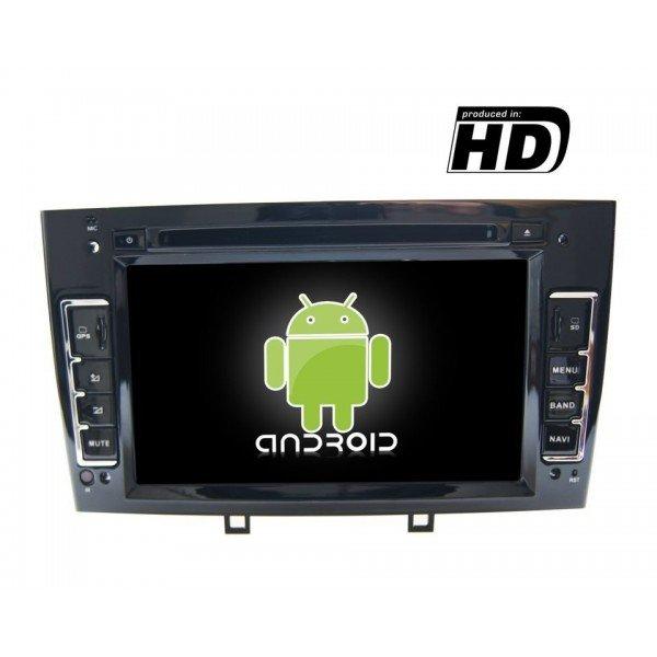 Radio DVD GPS HD Peugeot 308 / 408 ANDROID PURO REF: TR1862