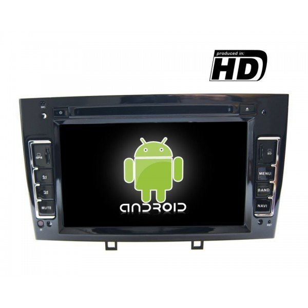 Radio DVD GPS HD Peugeot 308 / 408 PURE ANDROID REF: TR1862