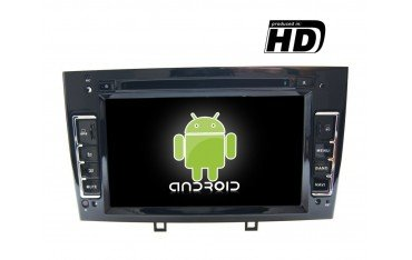 Radio navegador GPS Peugeot 308 / 408 negro Android 10 TR1862