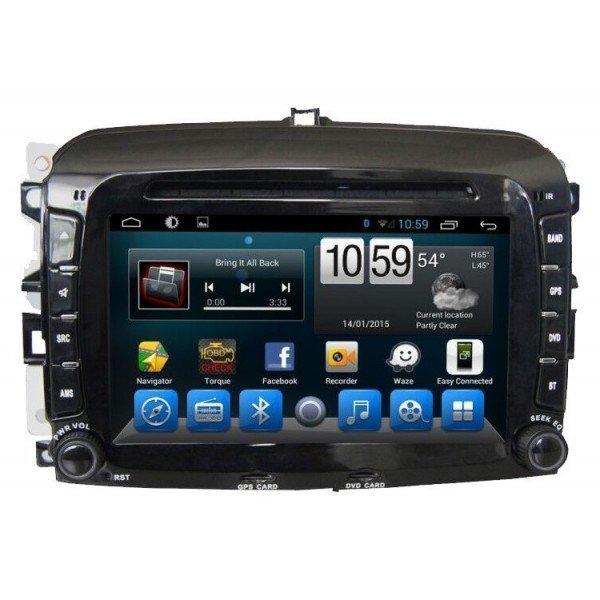 GPS Android OCTA CORE Fiat 500L REF:TR2893