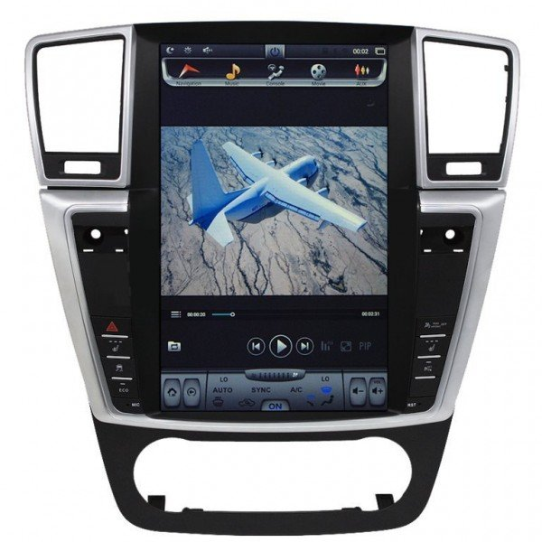 Radio DVD GPS ANDROID TESLA STYLE Mercedes Benz ML W166 REF: TR2898