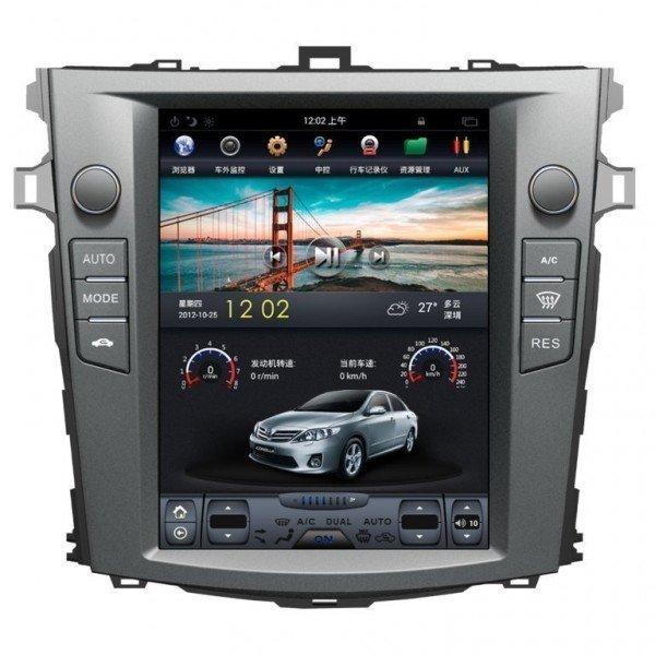TESLA STYLE Toyota Corolla gps android