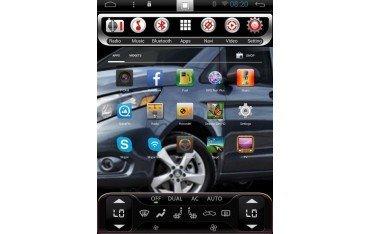 pantalla tesla Toyota HighLander