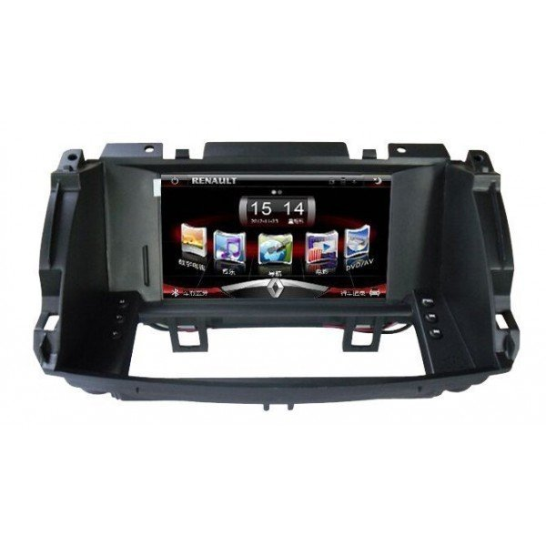 Radio DVD GPS HD Renault Clio 3 PURE ANDROID REF: TR2908