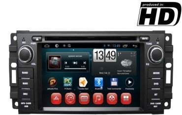 Radio DVD GPS HD Dodge, Chrysler, Jeep ANDROID 9,0 REF: TR1863