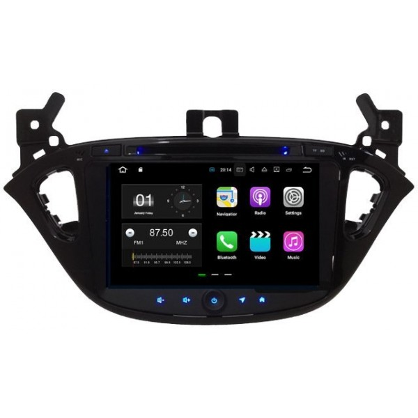 Radio DVD GPS Opel Corsa ANDROID 7.1.1 REF: TR2918