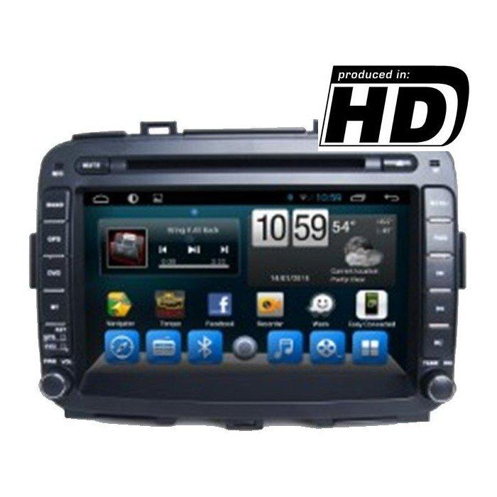 Radio pantalla DVD GPS HD Kia Carens ANDROID