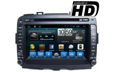 Radio DVD GPS Screen Kia Carens ANDROID TR1864