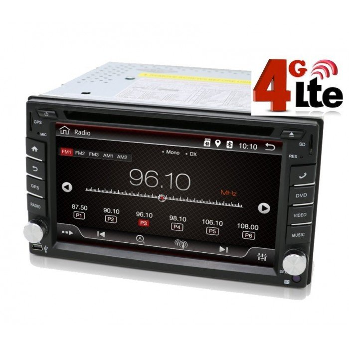 Radio 2 din DVD GPS Android 8,1 4G