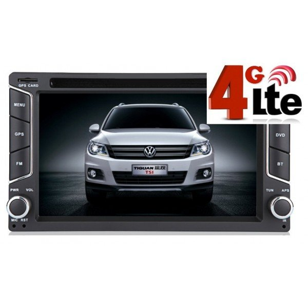 Radio DVD GPS Android 4g lte 2 din