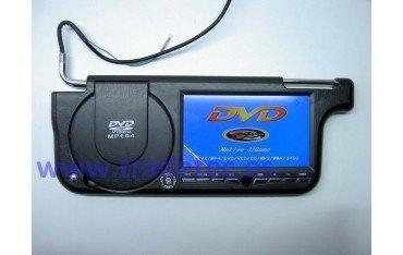 """Parasoles con LCD 7"""" y DVD REF:TR147"""