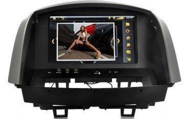 Radio DVD CON GPS para RENAULT CLIO, Ref:TR1006