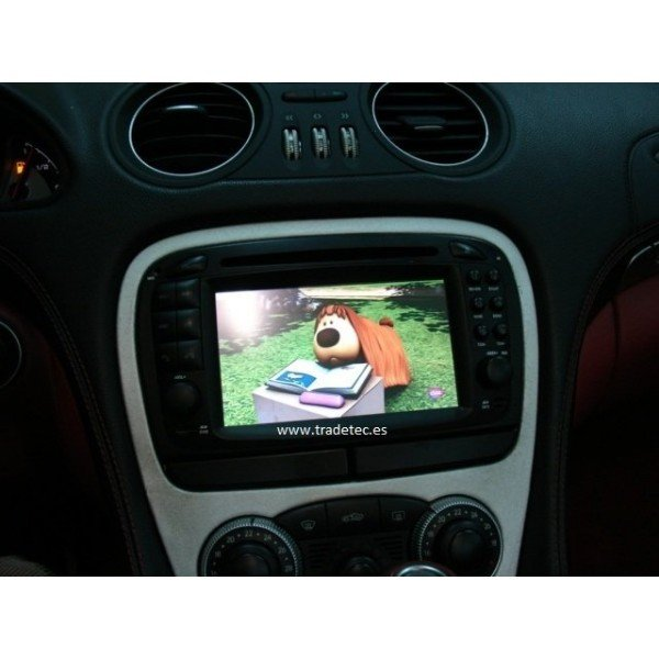 Radio DVD GPS Mercedes SL R230 ANDROID 9