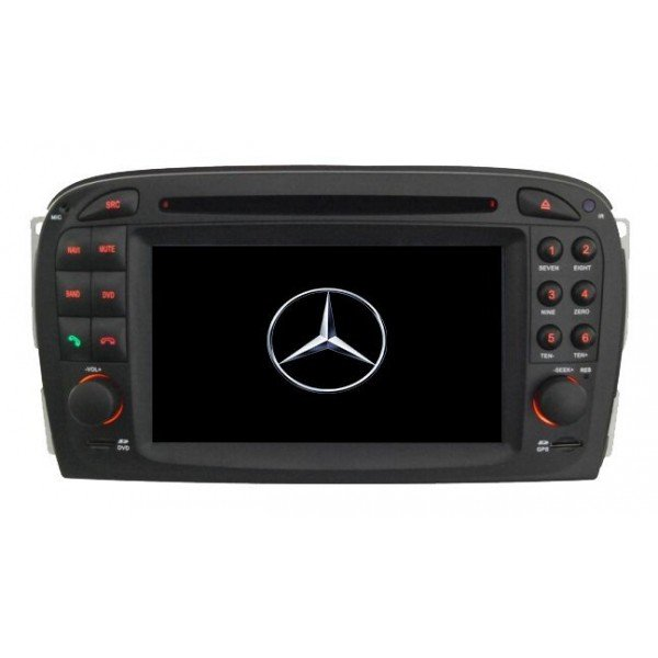 GPS Android 9,0 OCTA CORE 4GB RAM  Mercedes SL R230 REF:TR3000
