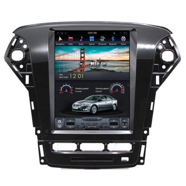 Radio DVD GPS ANDROID TESLA STYLE Ford Mondeo REF: TR3004