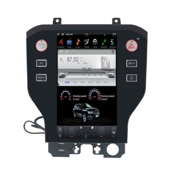 Radio DVD GPS ANDROID TESLA STYLE Ford Mustang REF: TR3005