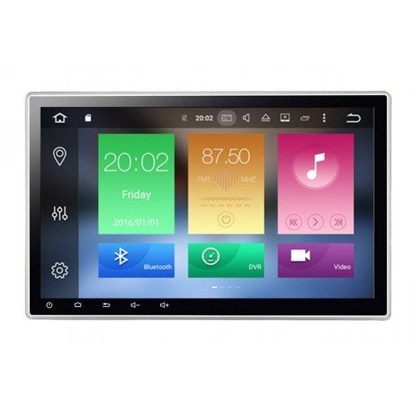 Radio GPS 10,1 pulgadas OCTA CORE Android 8, 1 DIN REF:TR3019