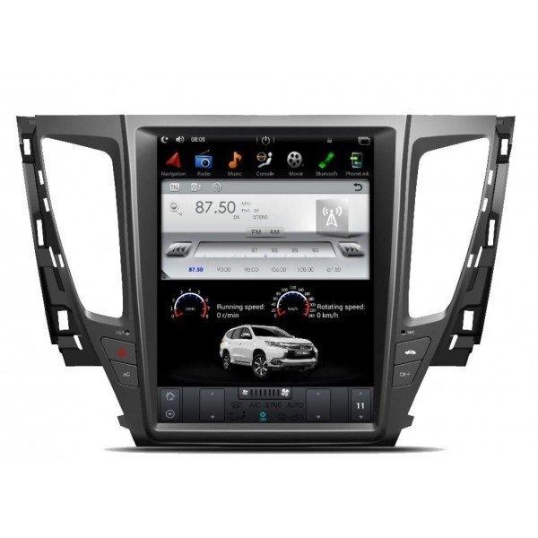 GPS ANDROID TESLA STYLE Mitsubishi Montero / Pajero