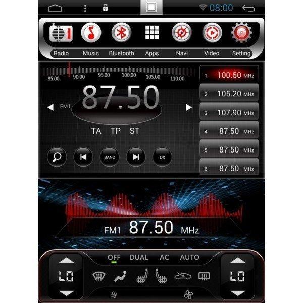 GPS ANDROID TESLA Mitsubishi Montero / Pajero