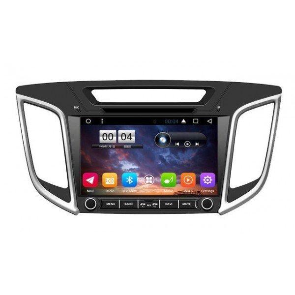 Radio navegador GPS para Hyundai IX25 2015 Android TR3023