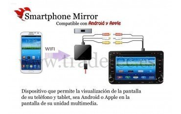 Smartphone mirror WIFI for Android and Apple REF: TR1480