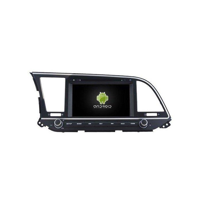 navegador Hyundai Elantra 2016 2017 2018