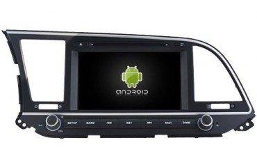 Radio navegador para Hyundai Elantra 2016 con GPS Android TR3026