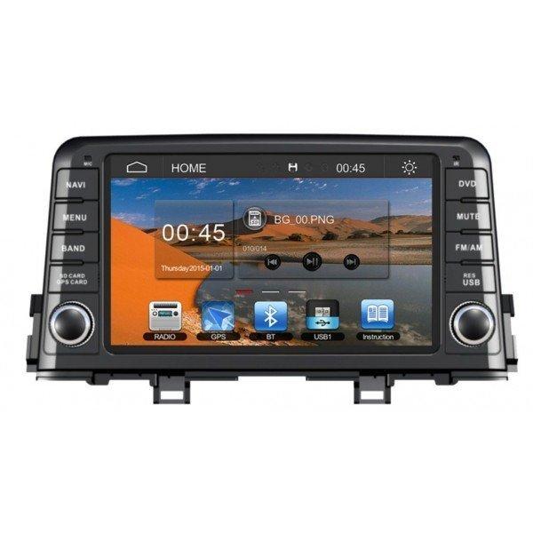Radio DVD GPS HD QUAD CORE Kia Picanto Android REF: TR3030