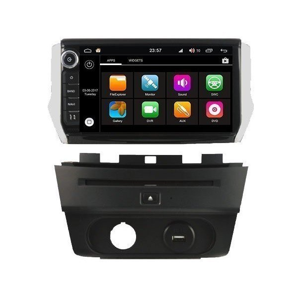 Radio DVD GPS Android HD OCTA CORE S200 Peugeot 208 / 2008 REF: TR3039