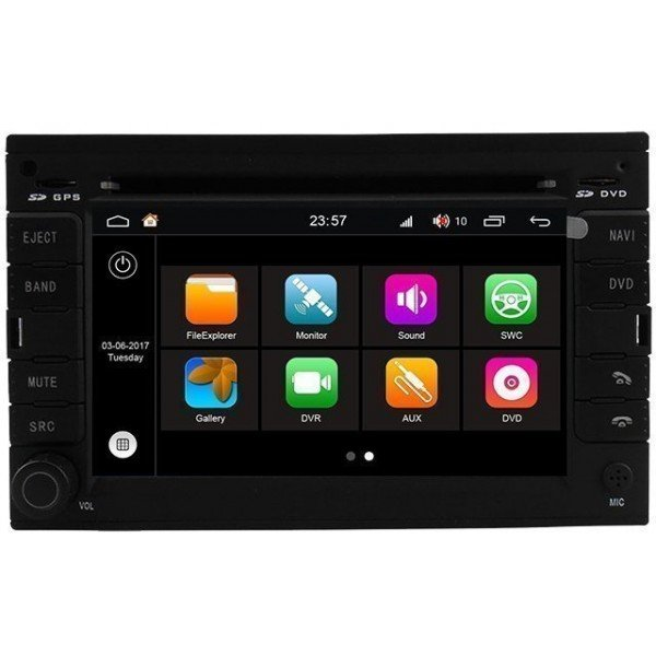 Radio DVD GPS Android HD OCTA CORE S200 Volkswagen Golf 4 REF: TR3040