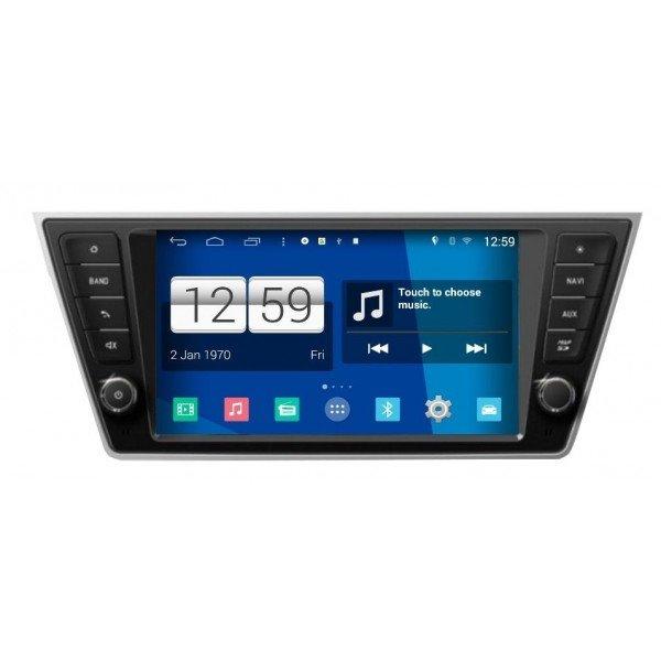 Radio DVD GPS Android HD OCTA CORE S200 Skoda Fabia REF: TR3041