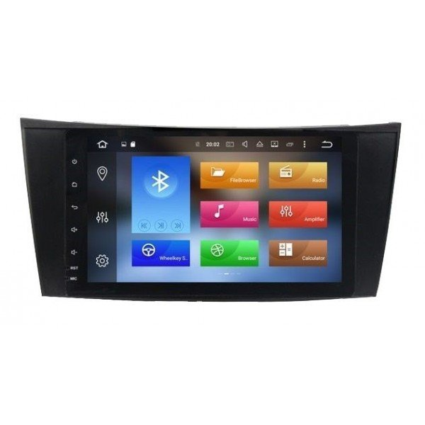 GPS Android 9,0 OCTA 4GB Mercedes E W211