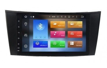GPS Android 9,0 4GB Mercedes E W211