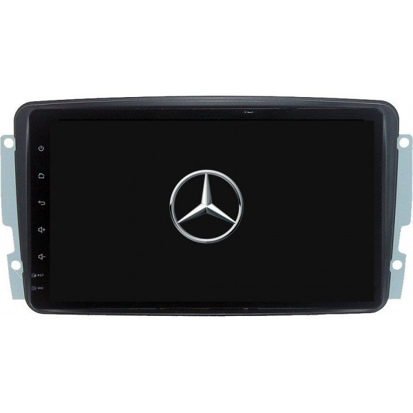GPS Android 9,1 QUAD CORE 2GB RAM Mercedes W203