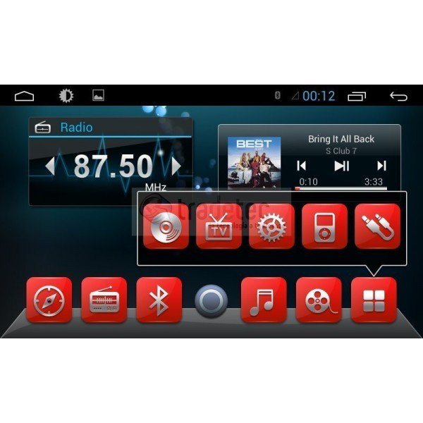 4G LTE Peugeot 301 ANDROID