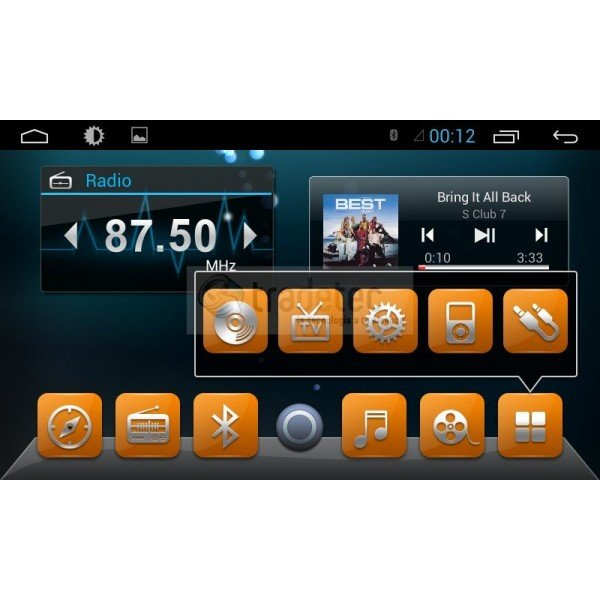 GPS 4G LTE RENAULT MEGANE 3 ANDROID TR3070