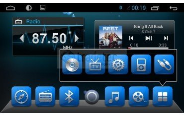 Radio DVD GPS 4G LTE Opel Insignia 2014 ANDROID