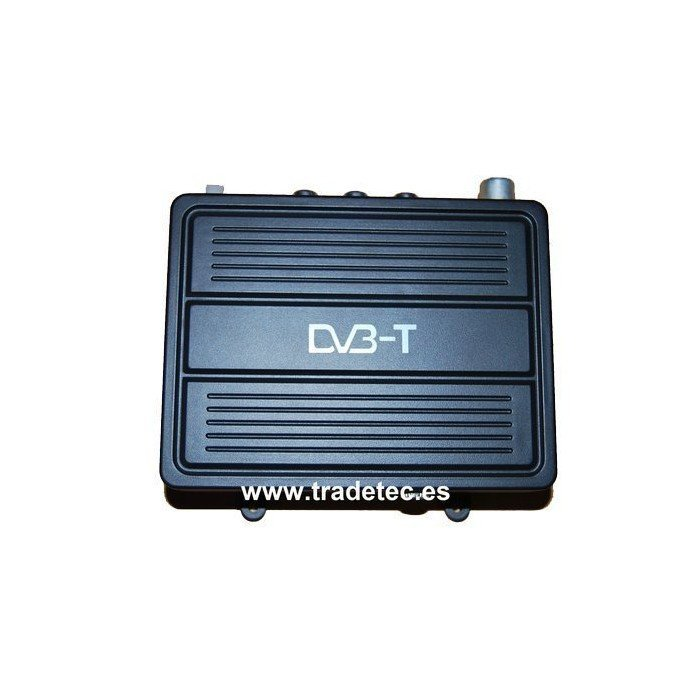 Sintonizador televisión TDT coche 12V con microSD TR149
