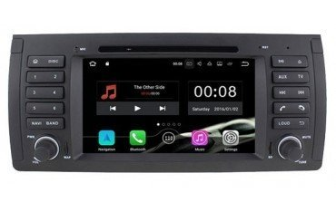 Radio DVD GPS 4G LTE BMW 5 Series E39 and X5 E53 ANDROID REF: TR3078