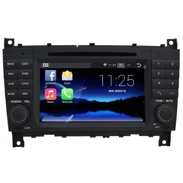 Radio DVD GPS Android 4G LTE OCTA CORE Mercedes Benz CLK / G / CLS REF: TR3082