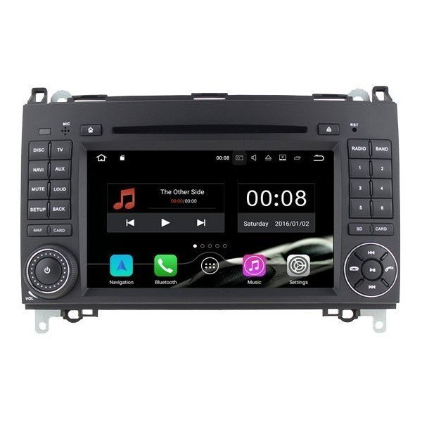 Radio DVD GPS 4G LTE Mercedes Clase A / B / Vito / Viano ANDROID