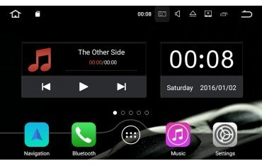 Radio DVD GPS 4G LTE Mercedes Benz C W203 ANDROID