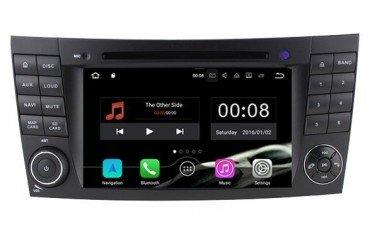 Radio DVD GPS 4G LTE Mercedes E W211 ANDROID REF: TR3085