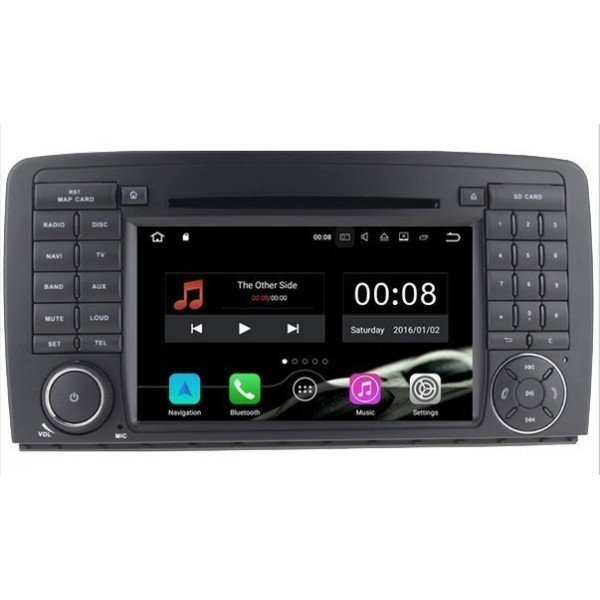 Radio DVD GPS 4G LTE Mercedes R ANDROID REF: TR3086