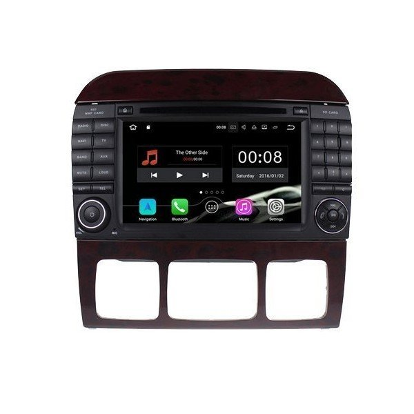 Radio DVD GPS 4G LTE Mercedes S ANDROID | Tradetec